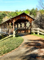 Covered Bridge at Allegany State Park