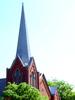 Church Spire - Jamestown NY