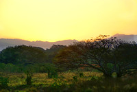 Sunrise over Sierra Madre Mountains