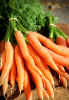 Carrot Bunches For Saleat Farmers Market