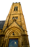 Stone  Steeple of SS. Peter & Paul Church