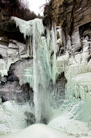 Taughannock Falls  Over Ice