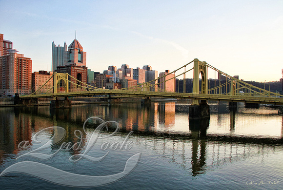 Pittsburgh Skyline - Overlooking the Allegheny