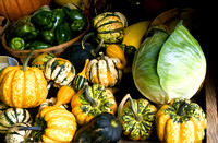 Fall Produce at Roadside Stand